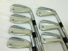 2019 Taylormade P790 iron set 4-PW irons P-790 Project X 5.5 - Steel Stiff flex