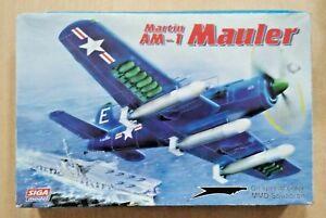63-72014 SIGA 1/72nd Scale MARTIN AM-1 MAULER Plastic Model Kit