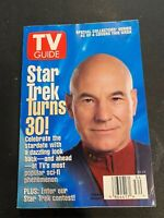 TV Guide Star Trek Turns 30 August 24-30 1996 Issue Special Collectors Series #2