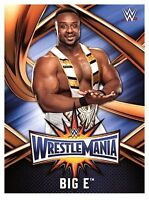 2017 TOPPS WWE Road to Wrestlemania 33 ROSTER #32  BIG E