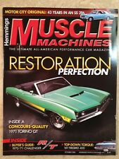 MAGAZINE HEMMINGS MUSCLE MACHINES OCTOBER 2009 TORINO CHALLENGER DART FIREBIRD