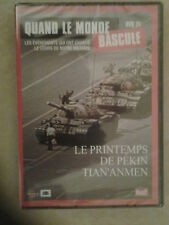 "28963 // QUAND LE MONDE BASCULE ""LE PRINTEMPS DE PEKIN  TIAN'ANMEN DVD NEUF"