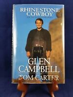 GLEN CAMPBELL AUTOBIOGRAPHY 1ST EDITION 1994 BOOK SIGNED THANK YOU GLEN CAMPBELL