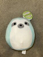 "New 2021 Release 7""Aqua the Sloth Easter Squishmallow New Rare Send Offers!"