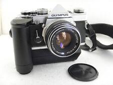Olympus OM-1 35mm + 50mm f1.8 Zuiko lens + Winder SLR Film Camera OM-System EXC