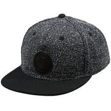New 2017 Neff Mens Petticap Cap Adjustable Leather Strap Hat Black/Black