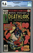 Marvel Spotlight #33 CGC 9.6 NM+ Deathlok Origin & 1st App. of the Devil-Slayer