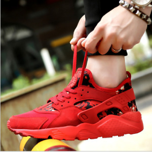 Men's Lace Up Fashion Sneakers Camouflage Trainers Creepers Gym Fitness Shoes