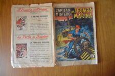 FUMETTO CAPITAN MISTERO LA TROMBA MARINA N. 15 28 6 1949  LIRE 25