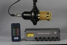 Microphone switch transceiver Kenwood Yaesu Icom TYT micrófono mic Ham MMC-T
