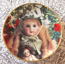 Franklin Mint Hanau Doll Museum Portrait Of Celeste Limited Ed Collector Plate