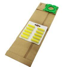 10 X VACUUM CLEANER BAGS FIT SEBO C SERIES + 10 VAC FRESHENERS    PRO38  FRESH1Y