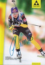 Autogramm - Miriam Gössner (Biathlon)