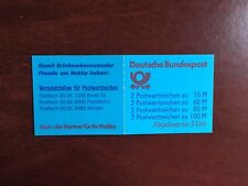 GERMANY BRD FRD BOOKLET MNH DEUTSCHE BUNDESPOST 5 DM BLUE