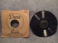 """78 RPM 10"""" Record Fred Waring Adeste Fideles & Cantique De Noel Decca 23644"""