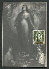 Spain MK 1965 Madonna DIPINTO Torres maximum carta carte MAXIMUM CARD MC cm d4117