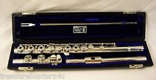 WILLIAM S. HAYNES HANDMADE FLUTE SOLDERED TONE HOLES INLINE G C FOOT JOINT NICE