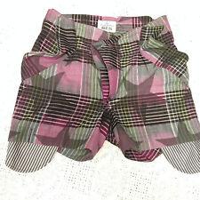 short in cotone da uomo Vivienne Westwood bermuda madras fashion men