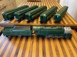 Post War lionel Southern crescent limited 8702 passenger train set o scale 🔥🚂