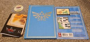 The Legend of Zelda Skyward Sword Collector's Edition guide complete with cloth