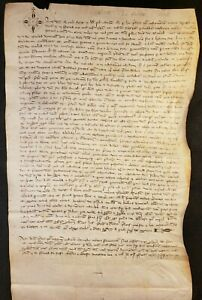1306 - MEDIEVAL PARCHMENT FROM THE REIGN OF KING PHILIP III AND POPE CLEMENT V