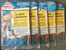*NEW* Vintage SPOTLESS Roaster & Broiler Cooking Bags for 7lb Chicken/ Duck