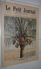 PETIT JOURNAL 1898 GUERRE USA-ESPAGNE CUBA / FETE ETUDIANTS / MANUFRANCE PECHE