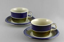 VINTAGE RETRO RORSTRAND ELISABETH COFFEE CUP WITH SAUCER, 24 SETS AVAILABLE