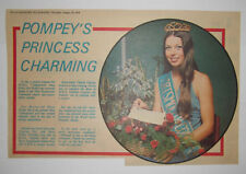 SUE WALLIS Crowned Miss Portsmouth Command 1976 Hampshire News Clipping