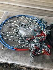 NEW LAND ROVER SNOW-CHAINS KIT FOR 235/65/18 R TYRE GENUINE PART# VUJ000010