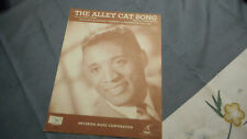 David Thorne The Alley Cat Song Photo Sheet Music 1962