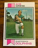 1973 Topps #295 Bob Griese - Dolphins