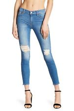 NWT 7 For All Mankind Ankle Gwenevere in Breezy Visby Stretch Skinny Jeans 26