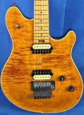 Peavey USA HP2 Carved Figured Top Electric Guitar w/ OHSC & COA Tiger Eye