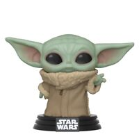 Funko Pop Star Wars Mandalorian Child Baby Yoda Figure w/ Protector IN STOCK!!!
