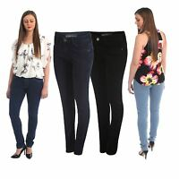 LADIES WOMENS SLIM FIT DENIM JEANS GIRLS STRETCHY TROUSERS JEGGINGS PLUS SIZE
