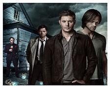 Sam Dean Castiel Crowley Supernatural 8x10 Picture Celebrity Print