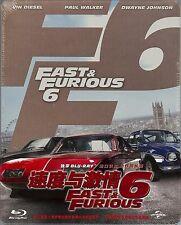 Fast & Furious 6 Limited Edition SteelBook w/Slip (Region A, B & C China Import)