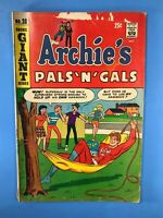 ARCHIE'S PALS 'N' GALS #38 Archie GIANT Series FALL ISSUE 1966