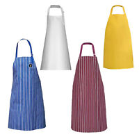 NEW Heavy Duty Waterproof Chef Apron Kitchen Butcher Cooking Catering BBQ UK