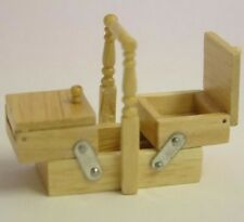Pine Sewing Box By Heidi Ott, Doll House Miniatures