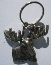 Elch Moose Schlüsselanhänger Keychain NEU (A53v)