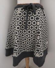 ODD MOLLY Granny Square hand crochet skirt 2 M flared