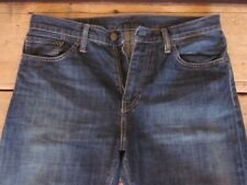 RECENT LEVIS JEANS 509 (32x30-SHORT) SLIM TAPERED 100% COTTON BUTTON-FLY FADED -