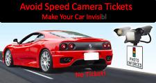 Anti Toll, Speed Red Light Traffic Camera Photo Blocker License Plate Cover