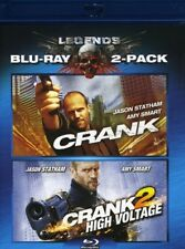 Crank / Crank 2: High Voltage [New Blu-ray] 2 Pack