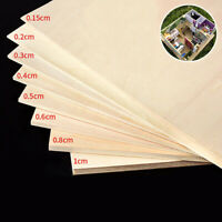 11.8'' Basswood Board Plywood Aviation Model Layer Plank DIY Wood Craft 1.5-10mm