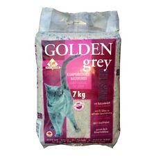 Golden Grey Master Katzenstreu 7kg Bentonit Katzentoilette Katzenklo Einstreu