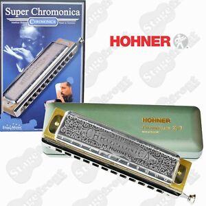 HOHNER CHROMATIC HARMONICA 270 SUPER CHROMONICA ***SELECT YOUR KEY**
