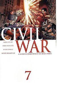 MARK MILLAR CIVIL WAR (2006) #7 1ST PRINT! CAPT AMERICA 3 MOVIE!